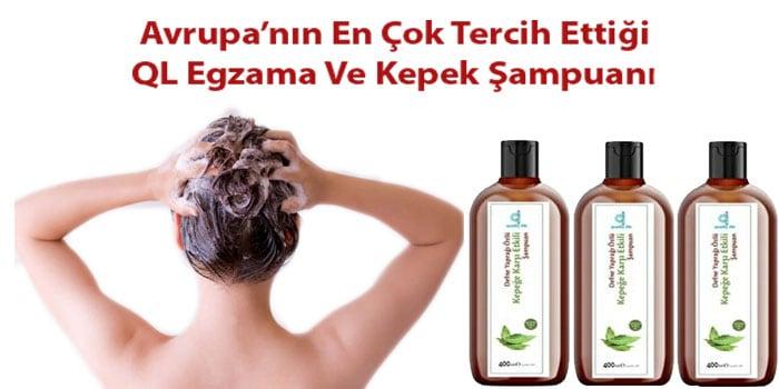 Avrupanın en çok tercih edilen egzama şampuanı